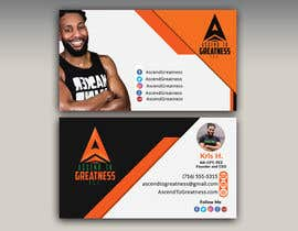 #145 for Design Personal Trainer Business Cards by Monowar8731