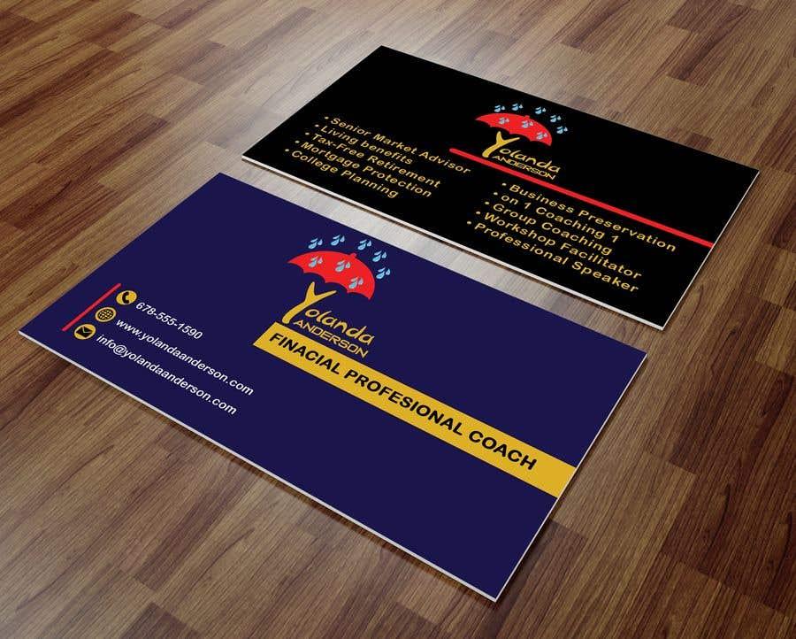 Penyertaan Peraduan #115 untuk Design Insurance Salesman Business Cards