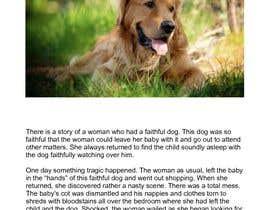 Nro 3 kilpailuun Simple Dog Story käyttäjältä Ashwinsrikanth99