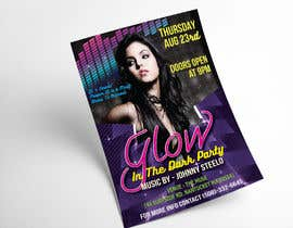 #9 pentru Design a glow in the dark party club flyer de către picasodh