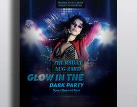 #23 pentru Design a glow in the dark party club flyer de către hridoyghf