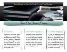 #9 for Home page design af Udovas