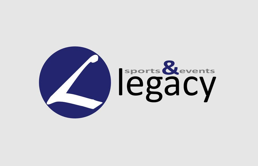 #49 for Logo Design for Legacy Sports & Events by kurijak