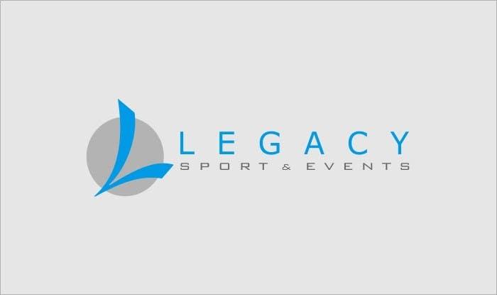 Bài tham dự cuộc thi #148 cho Logo Design for Legacy Sports & Events