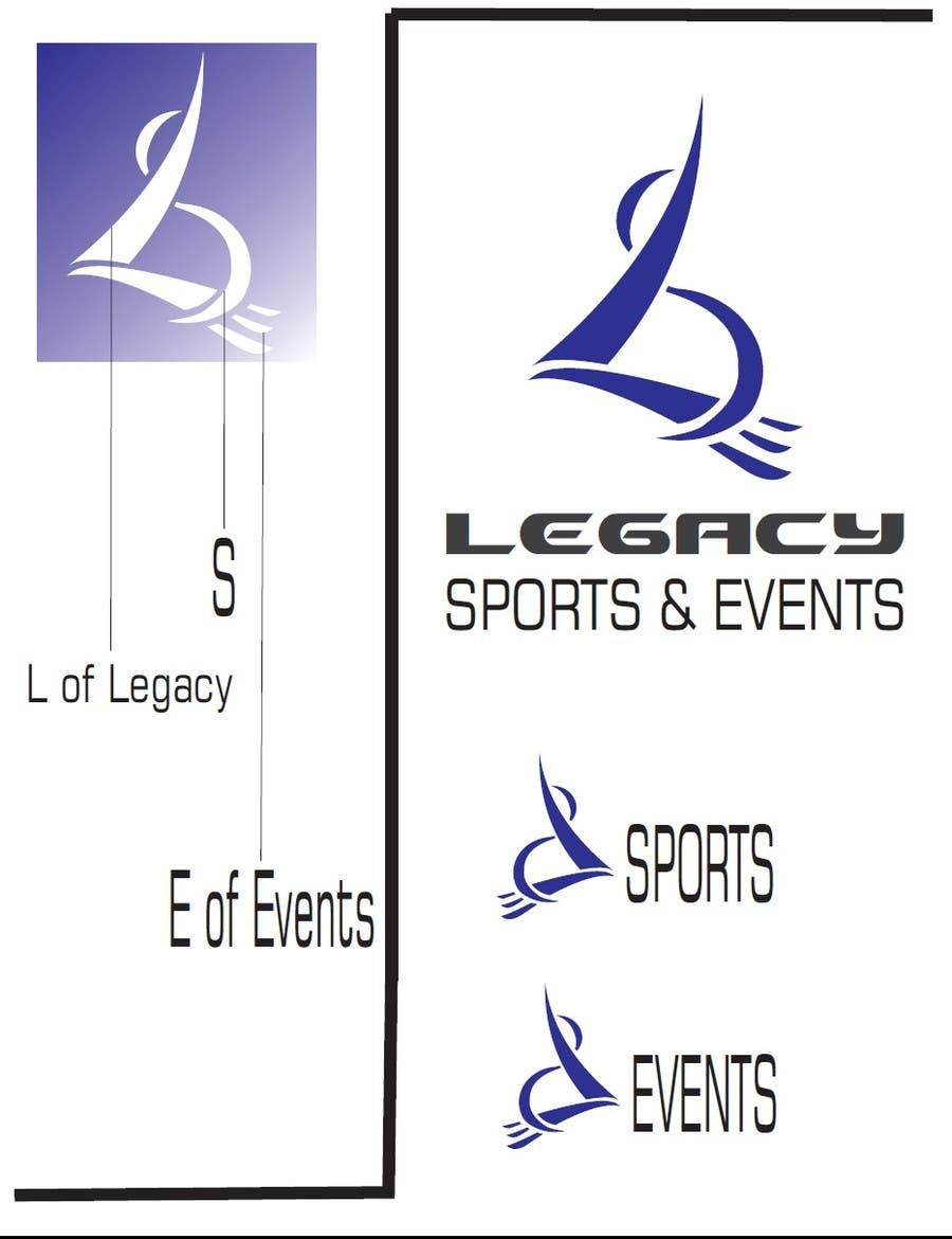#124 for Logo Design for Legacy Sports & Events by TheAVashe