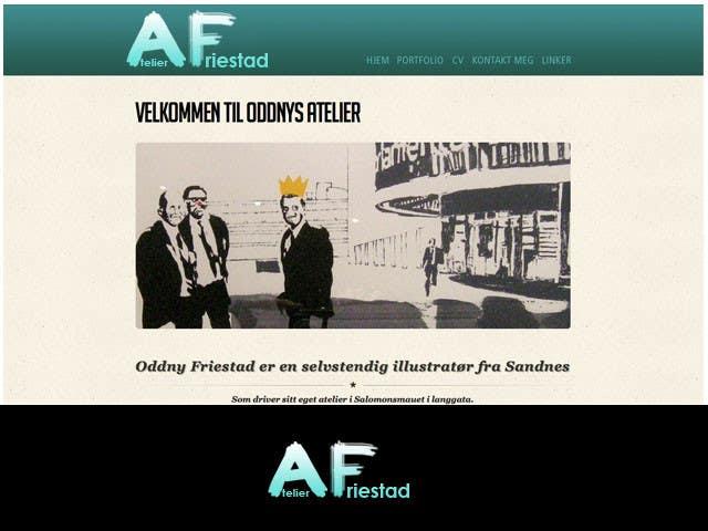 Penyertaan Peraduan #17 untuk Logo Design for atelier Friestad