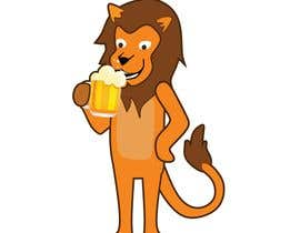#15 for I want a cartoon lion drinking a beer glass by robsonpunk
