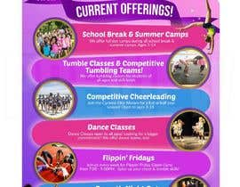 #18 for Cheerleading Class Flyer by d3stin
