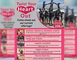 #17 for Cheerleading Class Flyer by AkterGraphics