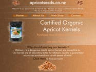 Contest Entry #10 for Graphic Design - Redesign FRONT PAGE Only - apricotseeds.co.nz website
