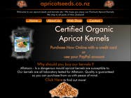 Contest Entry #9 for Graphic Design - Redesign FRONT PAGE Only - apricotseeds.co.nz website