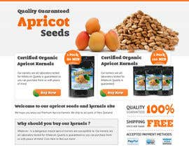 #25 for Graphic Design - Redesign FRONT PAGE Only - apricotseeds.co.nz website af vigneshhc
