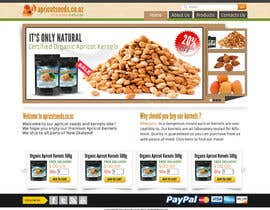 #46 for Graphic Design - Redesign FRONT PAGE Only - apricotseeds.co.nz website af samar09