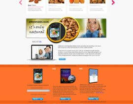 #17 untuk Graphic Design - Redesign FRONT PAGE Only - apricotseeds.co.nz website oleh marwenos002