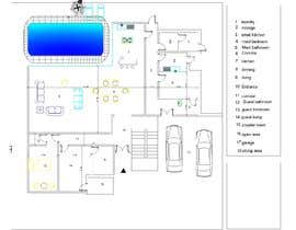 Nro 39 kilpailuun Floorpan design käyttäjältä haithamismail