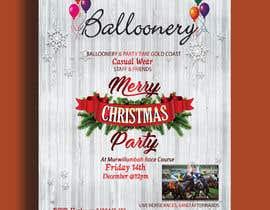 Nro 4 kilpailuun Balloonery Christmas Party käyttäjältä hridoyghf