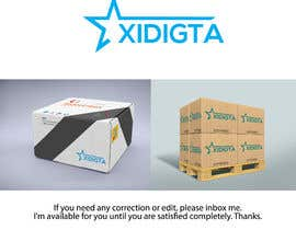 #27 untuk Logo and Branding Design for A4 Box Package and Wrapping Sheet oleh MDRidwanul