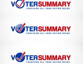 nº 8 pour Logo Design for Voter Summary par sarah07