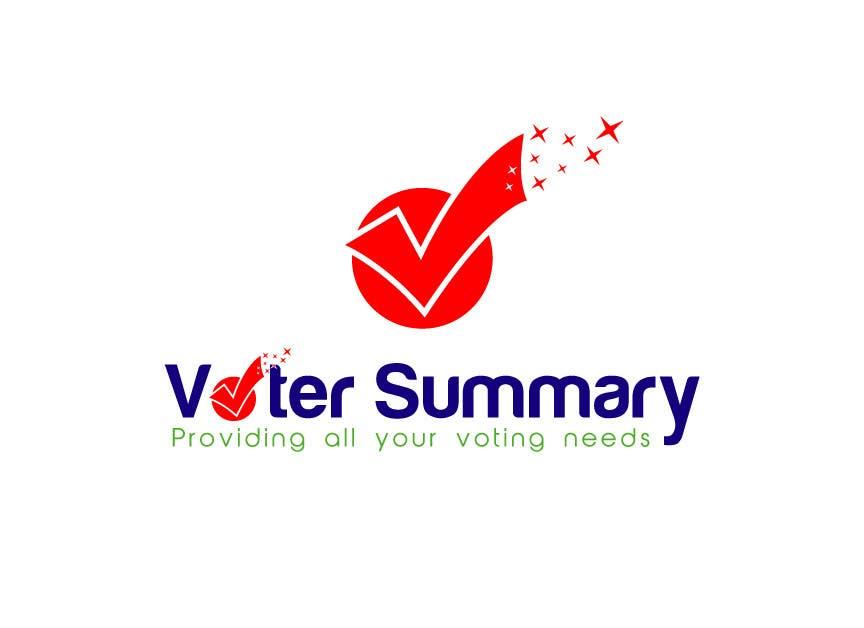 Bài tham dự cuộc thi #                                        12                                      cho                                         Logo Design for Voter Summary