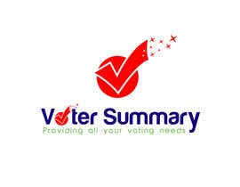 nº 12 pour Logo Design for Voter Summary par ideaz13