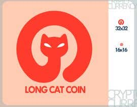 #32 for Create a Logo for the Crypto Currency 'LongCatCoin' by MJ0043