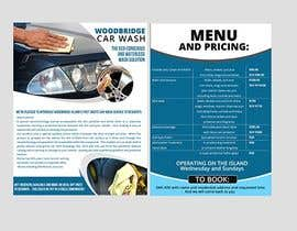 nº 8 pour CAR WASH BROCHURE par maidang34