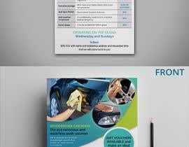 nº 12 pour CAR WASH BROCHURE par MonaemMohsin