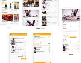 Nro 8 kilpailuun App Page Design Contest käyttäjältä mujeeb18