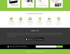 nº 75 pour Design a Website for a Networking App par softseoskysl