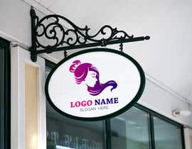 #4 for I need a logo for my hair extensions business. It should be contemporary and classy but have have a sight fun side to it. I need it to work well on business cards and shop front. Id like to stick to white, grey, black maybe some copper or Rose gold. by kamrul68