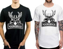 #50 for YoungBuck t-shirt logo design! by feramahateasril