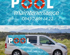 #18 for design for pool maintenance/advertising on car meredes Vito by dsz36