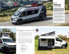 Nro 12 kilpailuun Creación Catálogo Fiat Talento Camper käyttäjältä JackArevalo