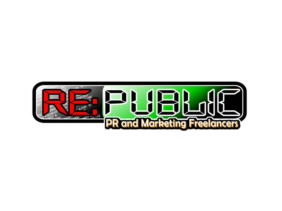 Конкурсная заявка №116 для Logo Design for Re:public (PR and Marketing Freelancers)