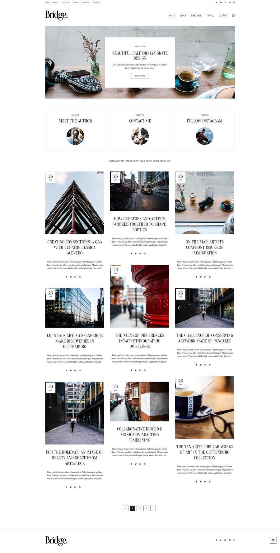 Konkurrenceindlæg #12 for Build A Blog - Design a Brand