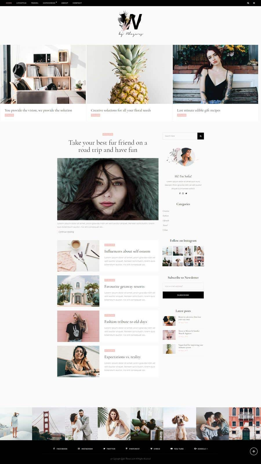 Konkurrenceindlæg #14 for Build A Blog - Design a Brand