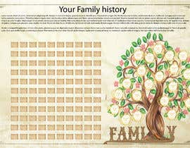 #18 for Family tree design for print by Shtofff