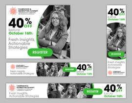 Nro 42 kilpailuun Design Web Ads for a Conference käyttäjältä angiras23