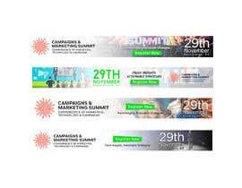 Nro 17 kilpailuun Design Web Ads for a Conference käyttäjältä amrsakrdesign