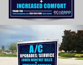 #16 for Yard Sign Design for HVAC - for Customer front yard by talk2anilava