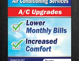 #10 for Yard Sign Design for HVAC - for Customer front yard by gonzalaswong