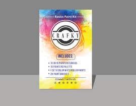 Nro 24 kilpailuun Crafky Paint Kit Label käyttäjältä sheikhmahamud848
