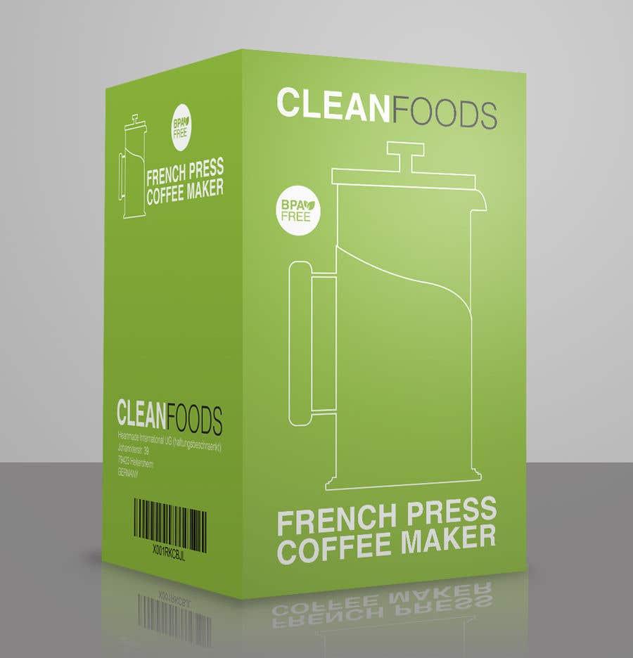 Penyertaan Peraduan #23 untuk [NEW] - FRENCH PRESS PACKAGING DESIGN NEEDED - Guaranteed/Featured