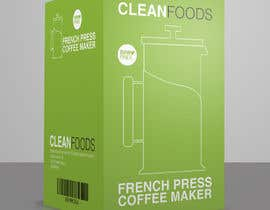 #23 untuk [NEW] - FRENCH PRESS PACKAGING DESIGN NEEDED - Guaranteed/Featured oleh wilsonomarochoa