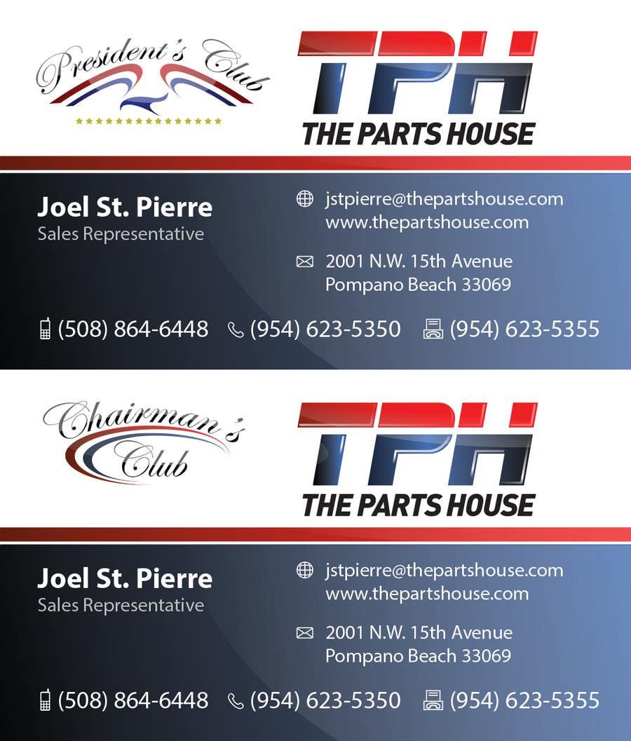 Penyertaan Peraduan #17 untuk Graphic Design for The Parts House