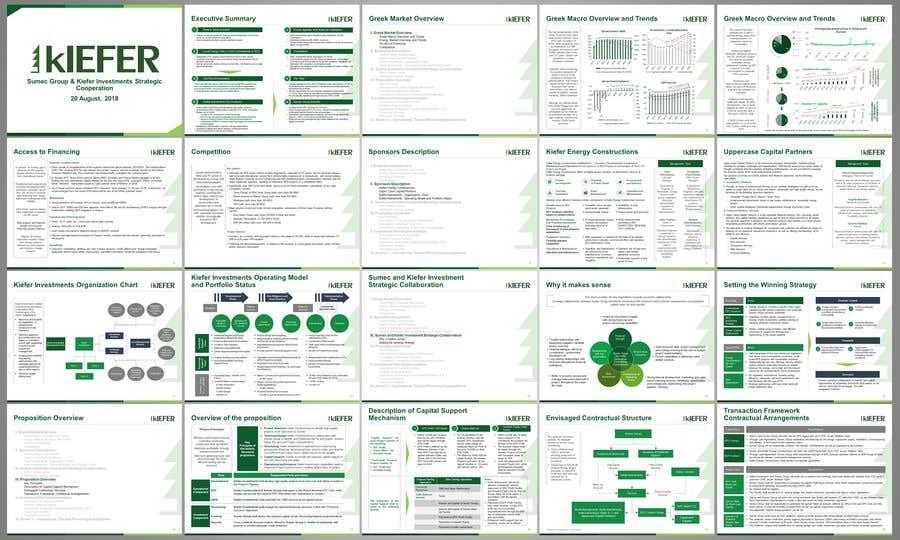 Kilpailutyö #18 kilpailussa Create a company Presentation