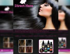 #112 para Design a Flyer for my Hair supply company por mmhmonju