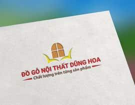 #3 pentru Design logo for ĐỒ GỖ NỘI THẤT DŨNG HOA de către mijan7