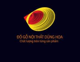 #17 pentru Design logo for ĐỒ GỖ NỘI THẤT DŨNG HOA de către shuvoroy990088