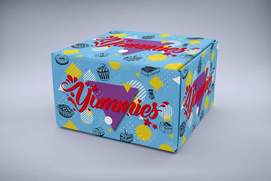 Contest Entry #14 for Snacks Box Packaging Design